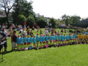 2017 -Pasování školáků a oslava Dne dětí